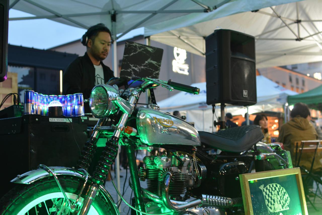 画像3: ナイトパーティ、DJブース、アート……これまでにないバイクイベントを目指す、バイク好きの若者たちが集った!