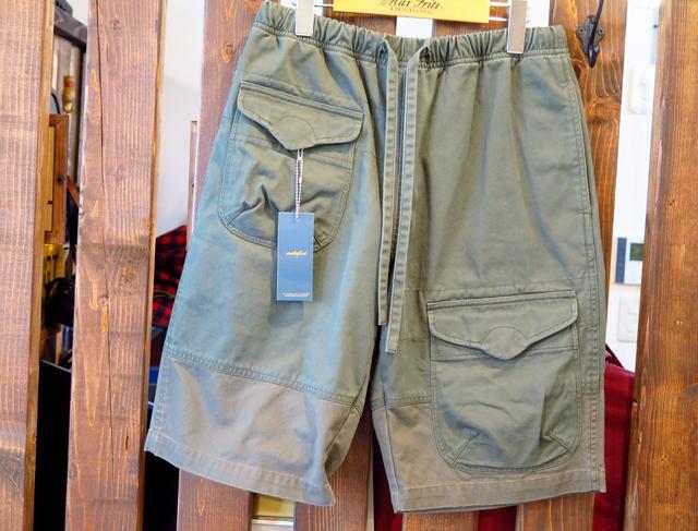 画像: makufuri Six Pockets Utility Work Shorts/税込10,800円