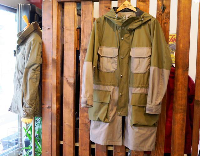 画像: makufuri 60/40 Mountain Coat/税込42,120円