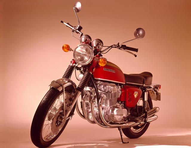 画像: 1969年に発売された、DREAM CB750FOURも展示される予定