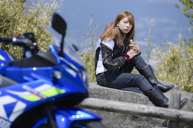 画像8: 葉月美優×SUZUKI GSX250R in 箱根【オートバイ女子部のフォトアルバム】
