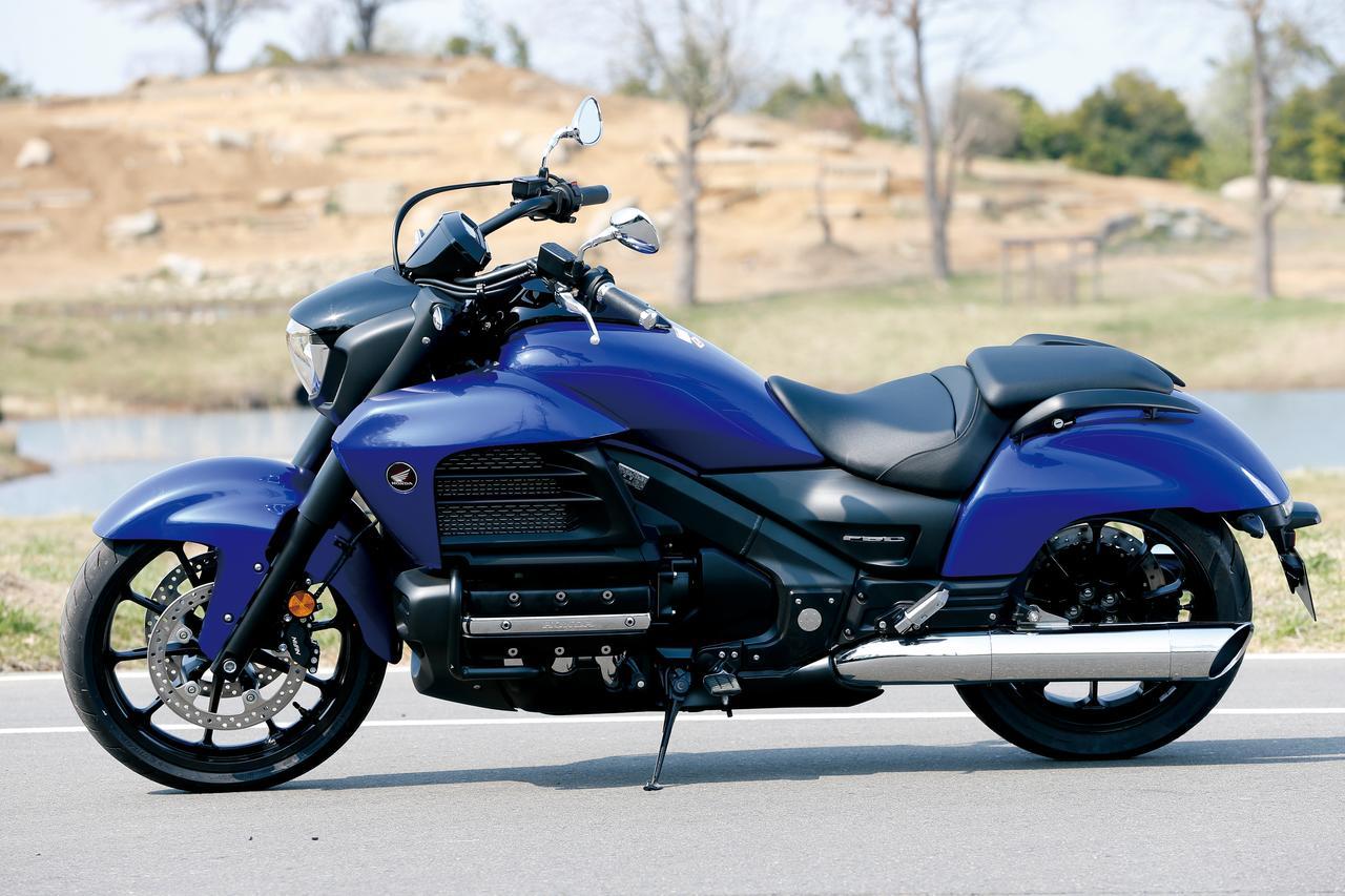 Images : 8番目の画像 - 「F6Cのデザインは「猛獣が獲物に襲いかかるイメージ」をモチーフにしている『HONDA GOLDWING F6C』(2014年)」のアルバム - webオートバイ
