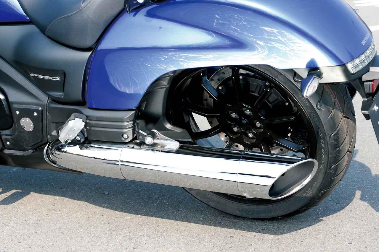 Images : 17番目の画像 - 「F6Cのデザインは「猛獣が獲物に襲いかかるイメージ」をモチーフにしている『HONDA GOLDWING F6C』(2014年)」のアルバム - webオートバイ