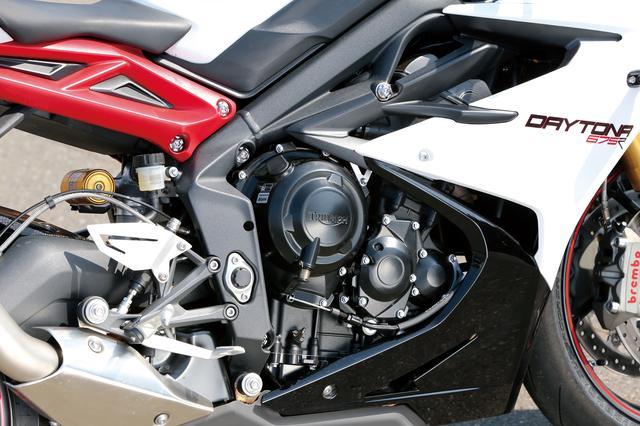画像3: デイトナ675Rは、足まわり、エンジンともに大幅に進化している!
