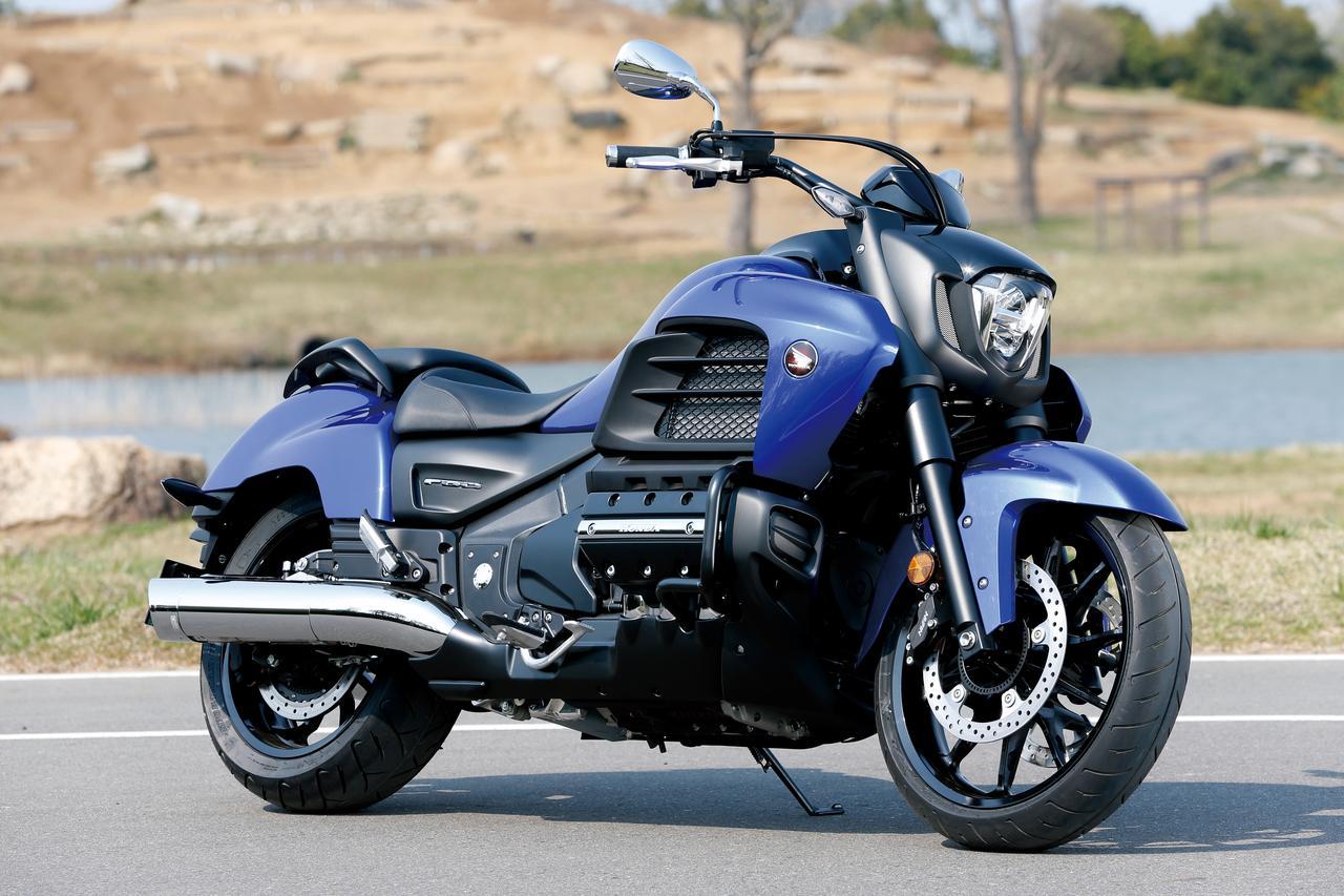 Images : 7番目の画像 - 「F6Cのデザインは「猛獣が獲物に襲いかかるイメージ」をモチーフにしている『HONDA GOLDWING F6C』(2014年)」のアルバム - webオートバイ