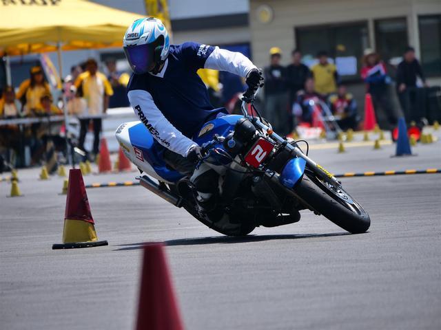 画像: A級3位・池田秀一選手&NSR250R