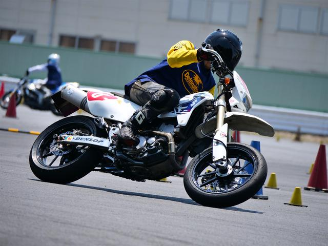 画像: A級4位・早川耕平選手&DR-Z400SM