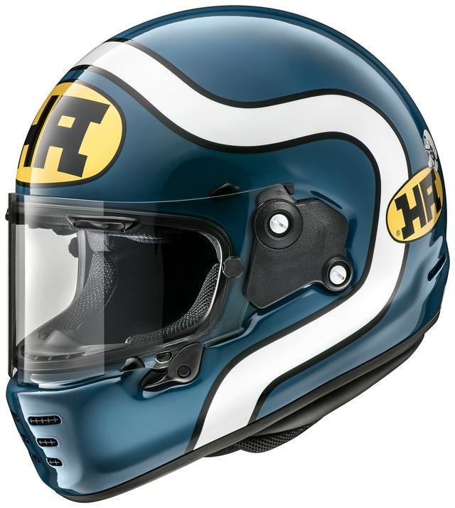 画像3: アライヘルメット「ラパイド・ネオ」の第一弾カラーリングモデルは、現代によみがえった「HA」ロゴを採用!