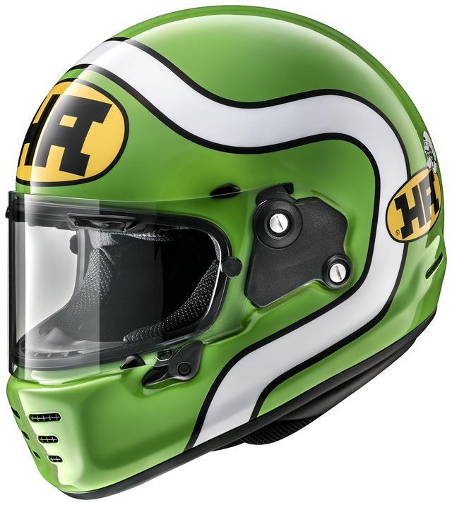 画像2: アライヘルメット「ラパイド・ネオ」の第一弾カラーリングモデルは、現代によみがえった「HA」ロゴを採用!