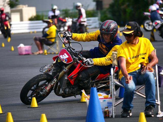 画像: A級2位・吉野 昇選手&CRF450X