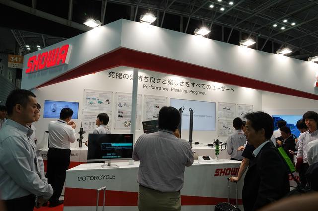 画像: 5月22〜24日まで、神奈川県横浜市のパシフィコ横浜で開催された「人とくるまのテクノロジー展2019横浜」。SHOWAブースで「EERA HEIGHTFLEX」は展示された。