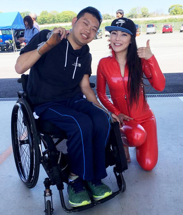 画像: 清田慎也さんは、数々の車いすマラソンで優勝や入賞を果たす実力者。現在、2020年の東京パラリンピックの出場を目指しています。