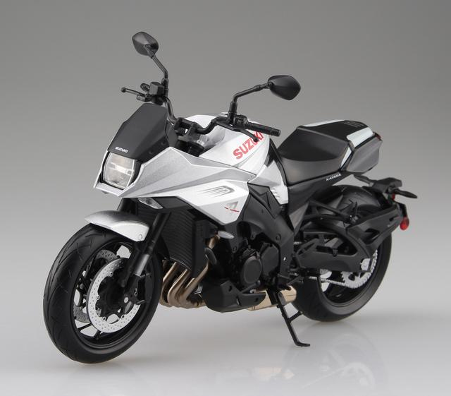 画像4: 青島文化教材社の「1/12 完成品バイク」シリーズ! 「銀」も「黒」も2019年7月発売予定!