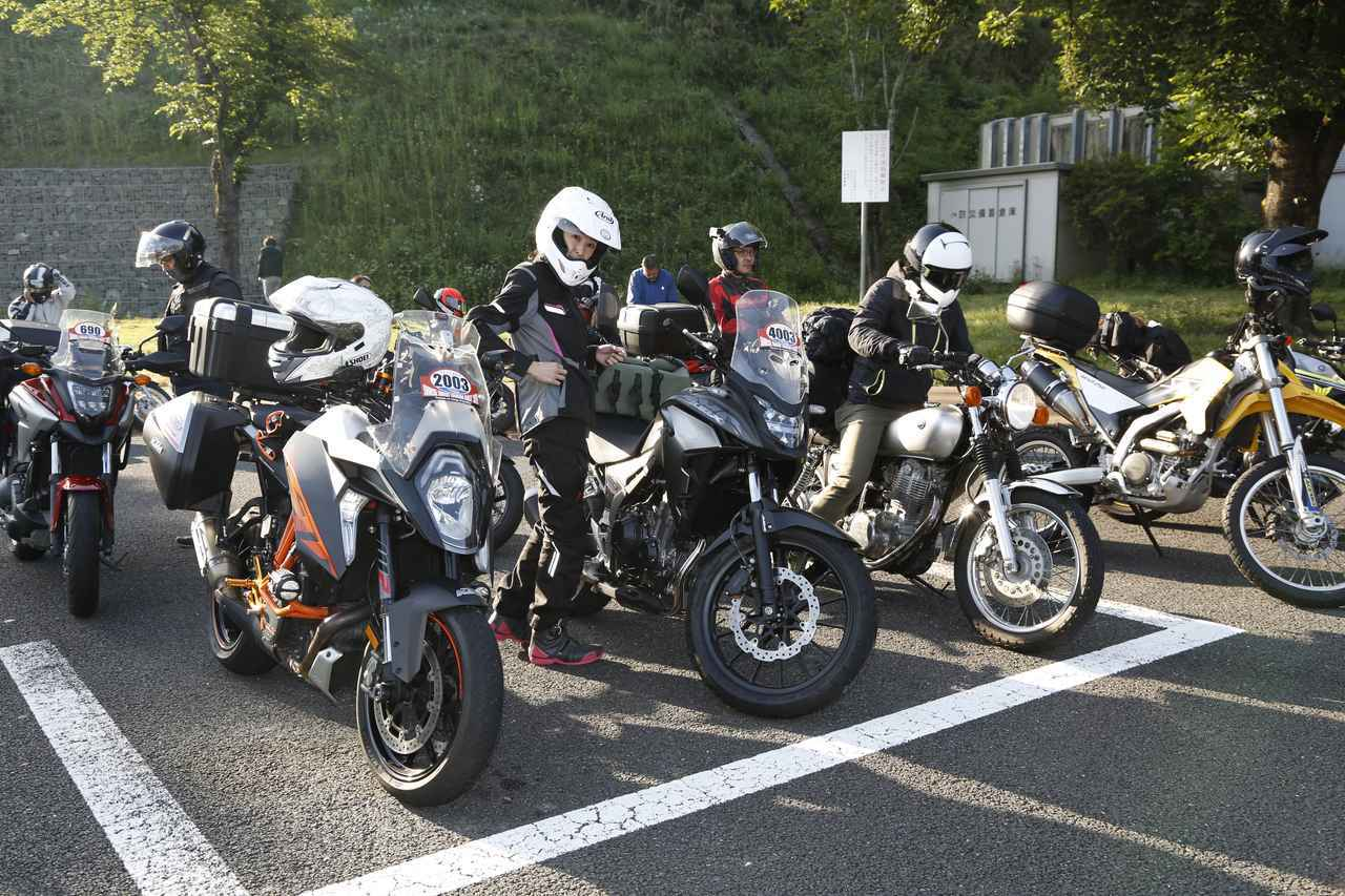 画像: ゴールまでのルートは任意で決めてOK。東京から片道約500kmの大冒険