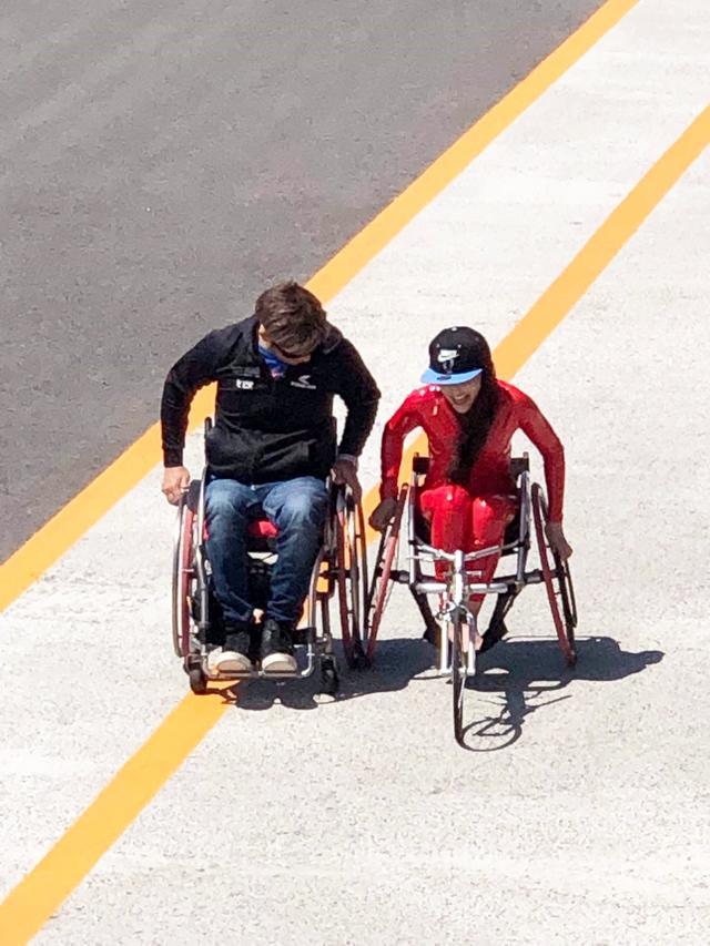 画像: HSR九州の〈レン耐〉で同時開催された「車いすマラソン」で感じたこと。(フォトエッセイ:福山理子)