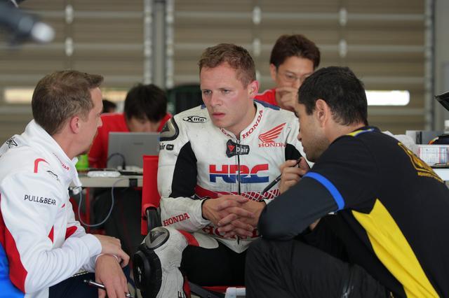 画像: MotoGPテストライダーのステファン・ブラドル 昨年は負傷で本選出場できませんでした
