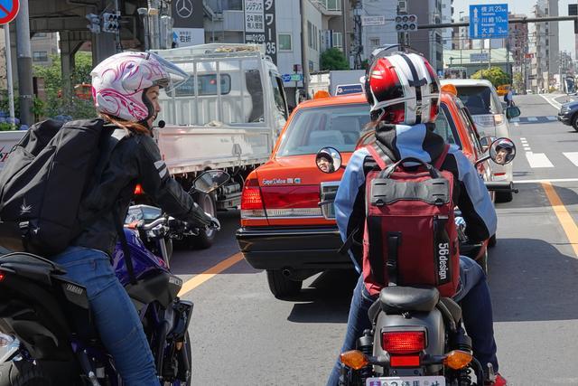 画像5: 集合場所のオートバイ編集部へ。