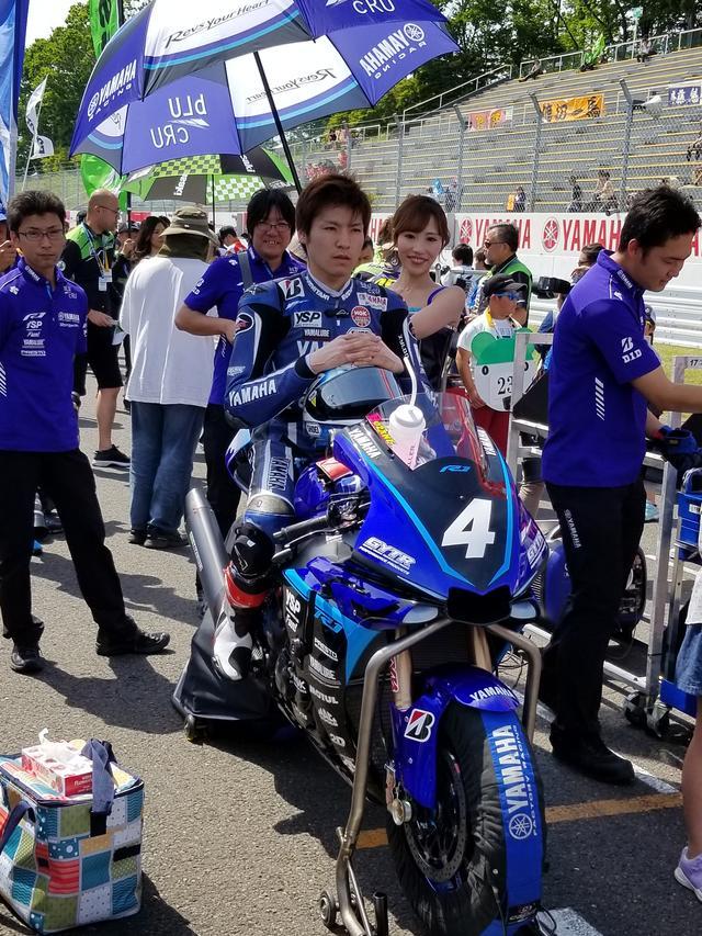 画像2: JSB1000決勝レース(レース2)は チームHRC高橋巧選手の独走状態でした!