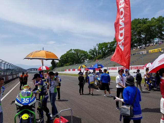 画像7: 前半の楽しい雰囲気とは一転。 いよいよ決勝レース! まずはJ-GP2