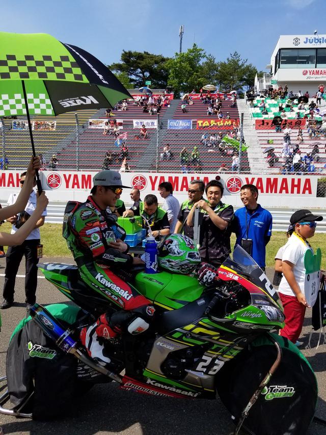 画像8: JSB1000決勝レース(レース2)は チームHRC高橋巧選手の独走状態でした!