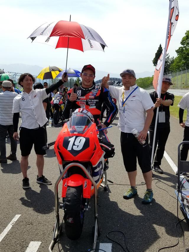 画像9: JSB1000決勝レース(レース2)は チームHRC高橋巧選手の独走状態でした!
