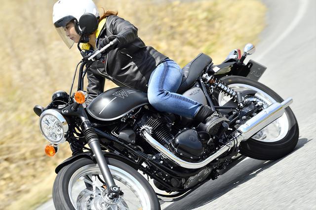 画像5: 平嶋夏海×KAWASAKI W800 STREET【オートバイ女子部のフォトアルバム】