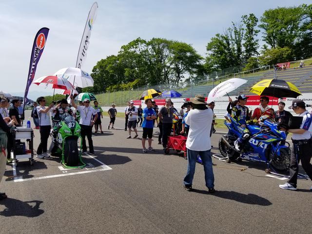 画像11: JSB1000決勝レース(レース2)は チームHRC高橋巧選手の独走状態でした!