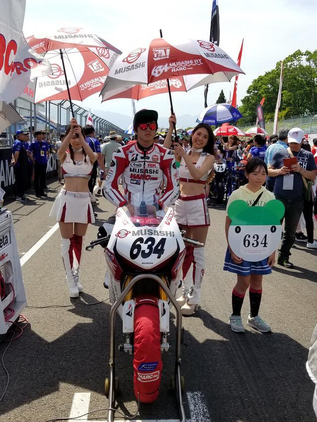 画像5: JSB1000決勝レース(レース2)は チームHRC高橋巧選手の独走状態でした!