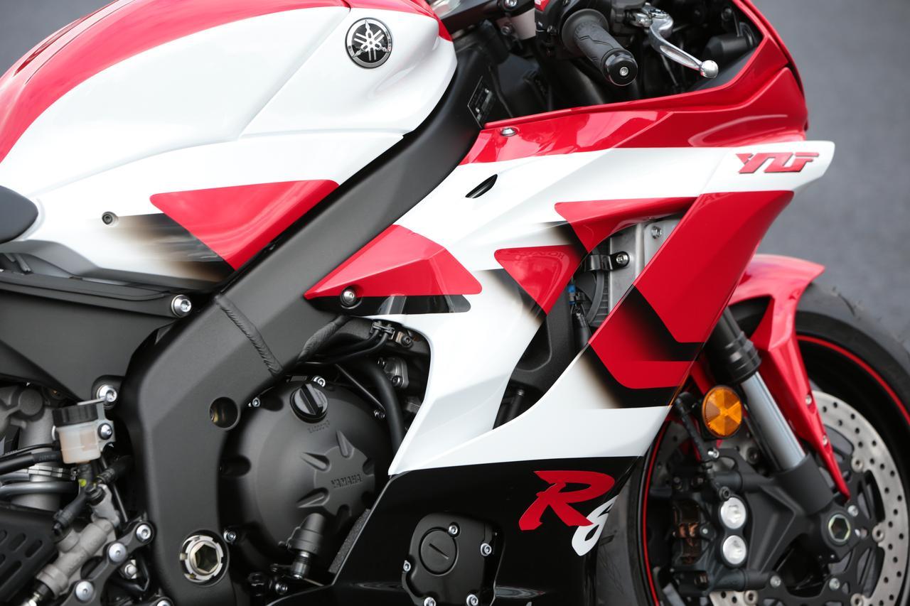Images : 17番目の画像 - 「【全方位写真】1台限定の抽選販売? YZF-R6の20周年を記念して、復刻カラーバージョンが出現!」のアルバム - webオートバイ