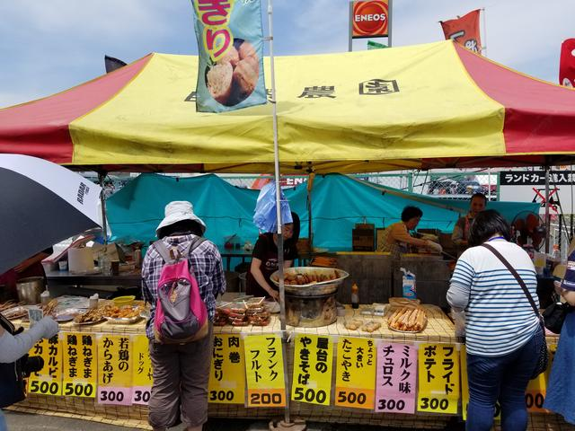 画像1: 全日本ロードレースが開催されるサーキットには出店がたくさん♪