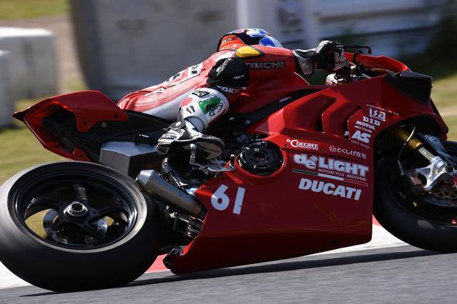 画像: これも鈴鹿2&4のときのカット 奥田も決勝レースで転倒し、ファイナルに回っていました