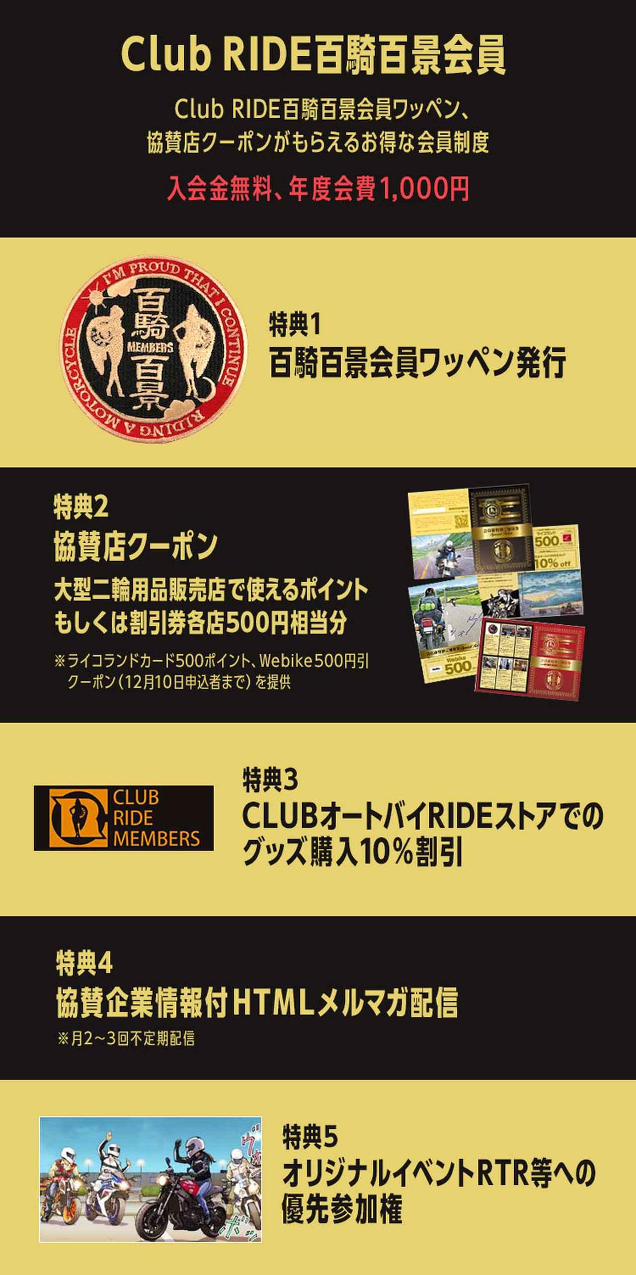 画像: Club RIDE百騎百景 申し込みページ | Fujisan.co.jpの雑誌・定期購読