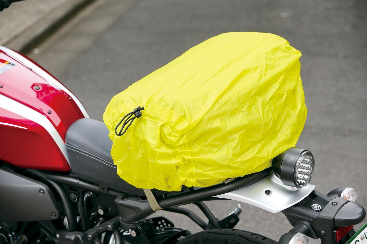 画像1: 被視認性向上のためバッグ全周にリフレクターが付いていればさらに安心