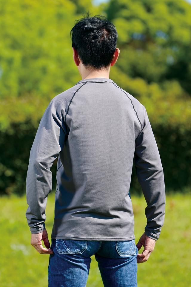 画像: 価格:1万6200円 [カラー] スモーキーグレー、ネイビー [サイズ] M(165〜175cm)、 L(170〜180cm)、XL(175〜185cm) [ 問 ] ヒョウドウプロダクト   TEL.053-465-8281 https://www.hyod-products.com