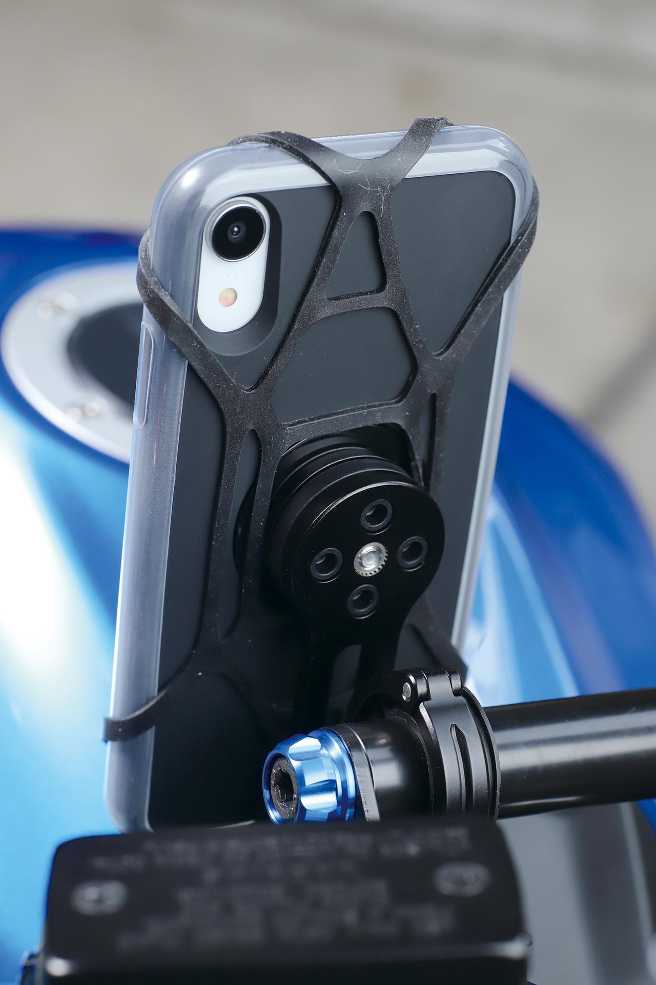 Images : 3番目の画像 - 「ワンタッチ着脱のスタイリッシュなスマホマウント『SP CONNECT MOTO BUNDLE』#GEARSTEST」のアルバム - webオートバイ