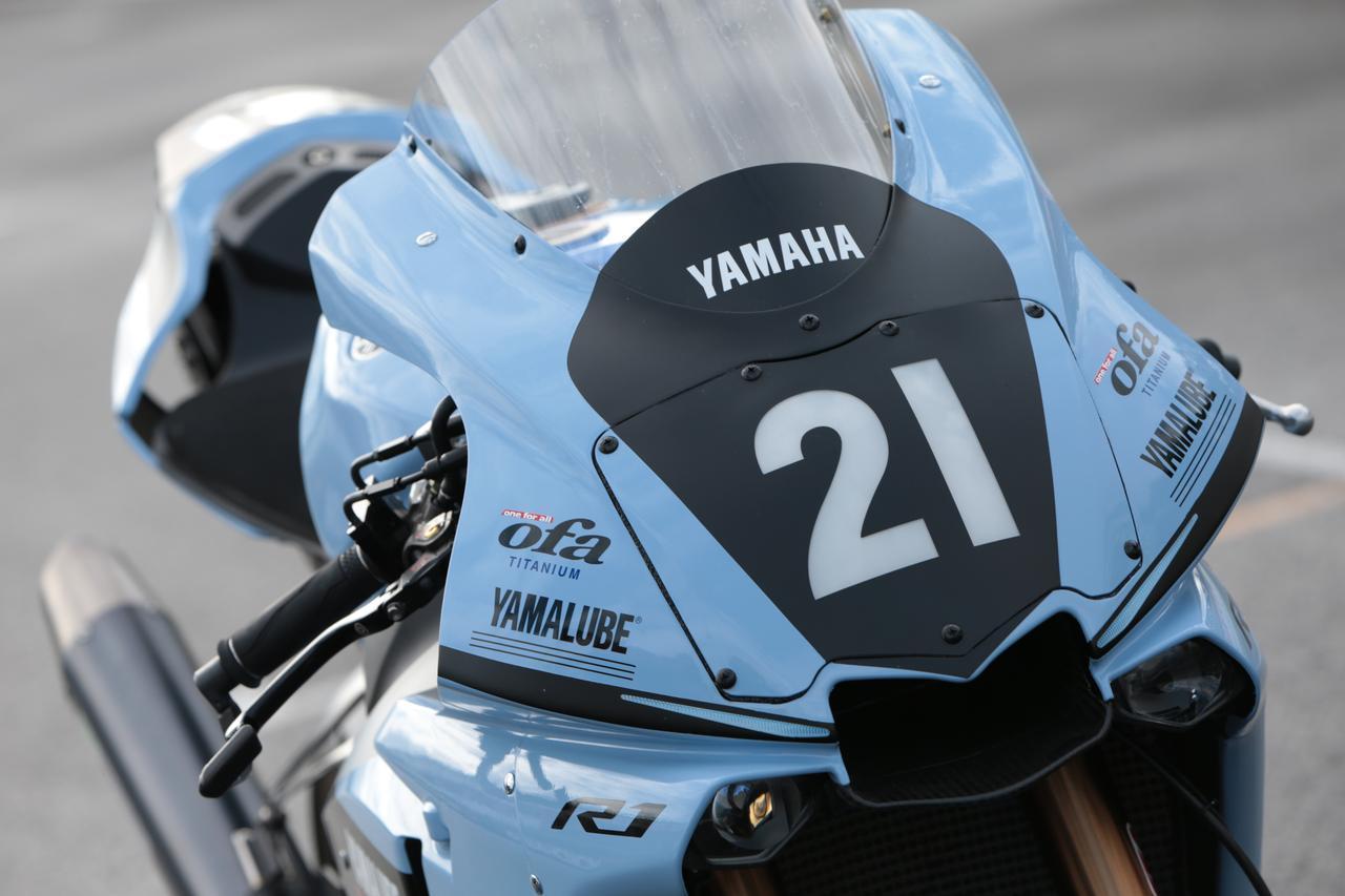 画像: 【全方位写真】21枚の写真見る、ヤマハYZF-R1「TECH21カラー」! - webオートバイ