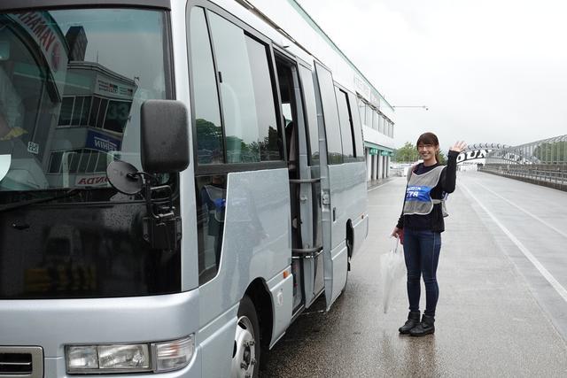 画像: 全日本ライダーがナビゲート! サーキットバスツアーも開催♪