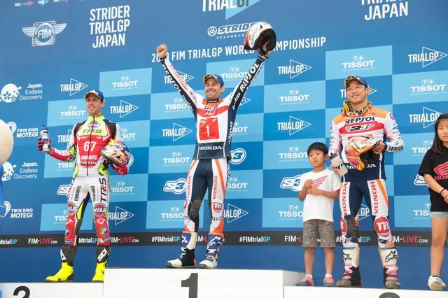 画像1: 世界選手権日本GPはトニー・ボウ選手が優勝\(^o^)/ 2日目はなんと全セクション減点なしのオールクリーン達成!!!