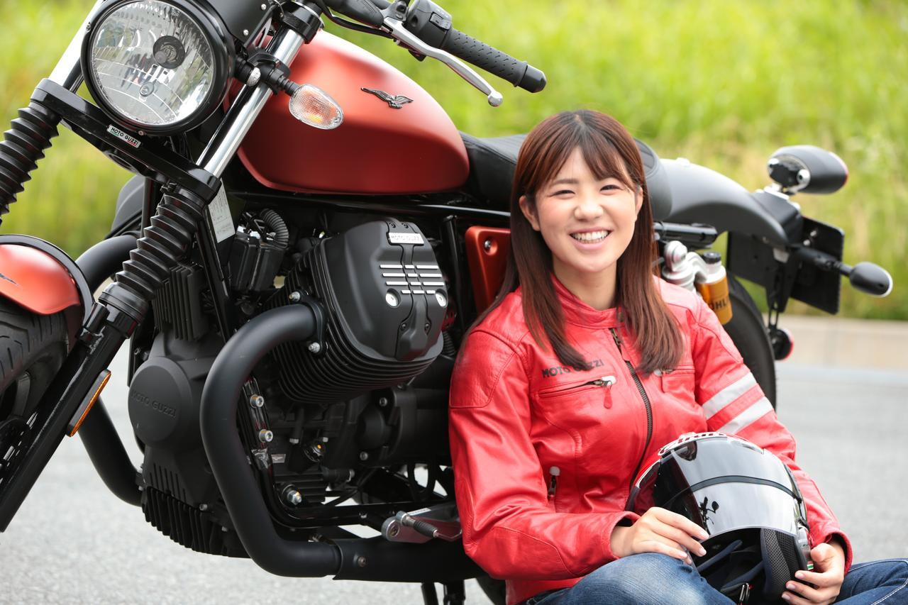 Images : 2番目の画像 - 「このエンジン大好きかも??【動画】ほぼ月刊「梅本まどかとオートバイ」vol.17 MOTO GUZZI☆V9ボバースポーツ」のアルバム - webオートバイ