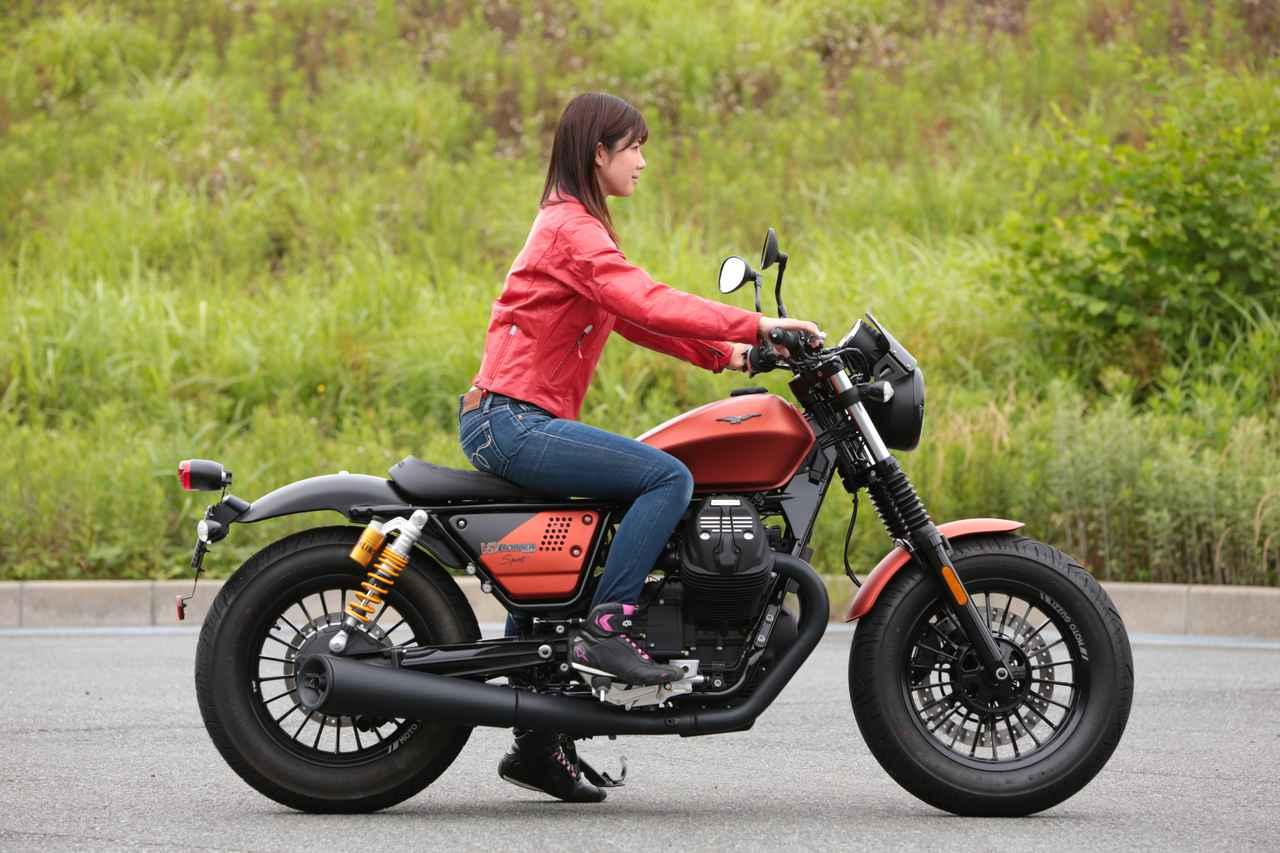 Images : 3番目の画像 - 「このエンジン大好きかも??【動画】ほぼ月刊「梅本まどかとオートバイ」vol.17 MOTO GUZZI☆V9ボバースポーツ」のアルバム - webオートバイ