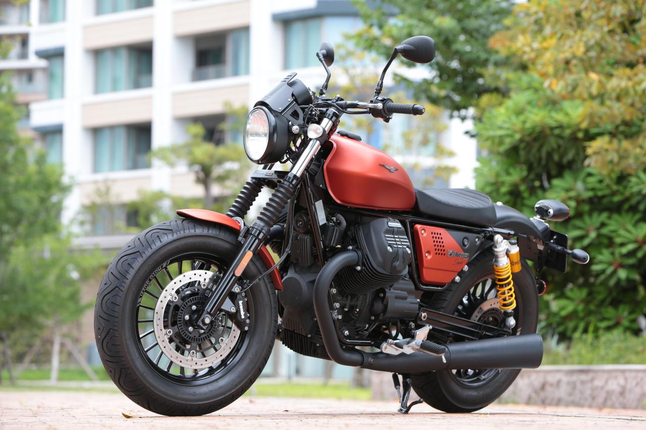 Images : 11番目の画像 - 「このエンジン大好きかも??【動画】ほぼ月刊「梅本まどかとオートバイ」vol.17 MOTO GUZZI☆V9ボバースポーツ」のアルバム - webオートバイ