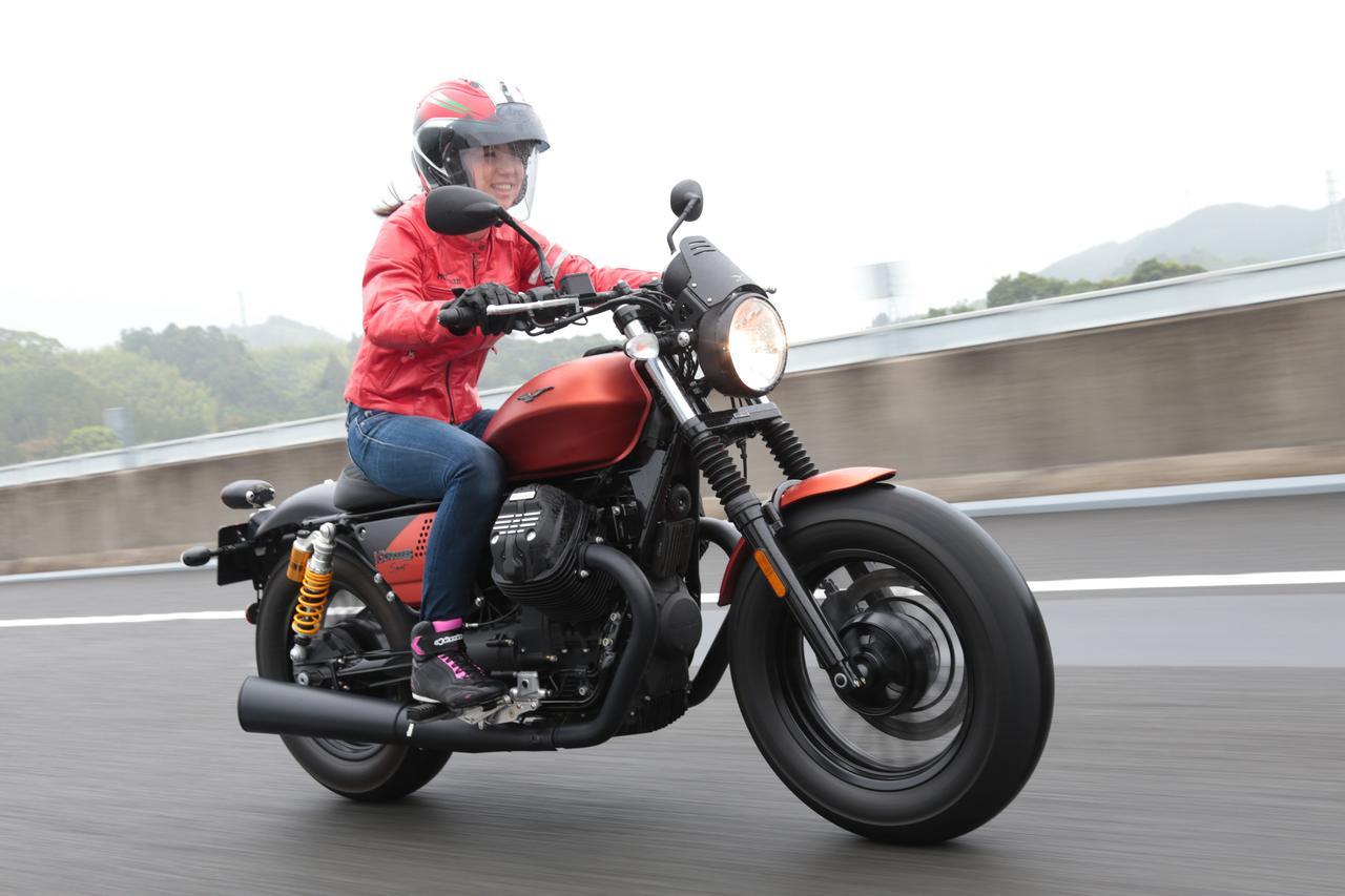 Images : 5番目の画像 - 「このエンジン大好きかも??【動画】ほぼ月刊「梅本まどかとオートバイ」vol.17 MOTO GUZZI☆V9ボバースポーツ」のアルバム - webオートバイ
