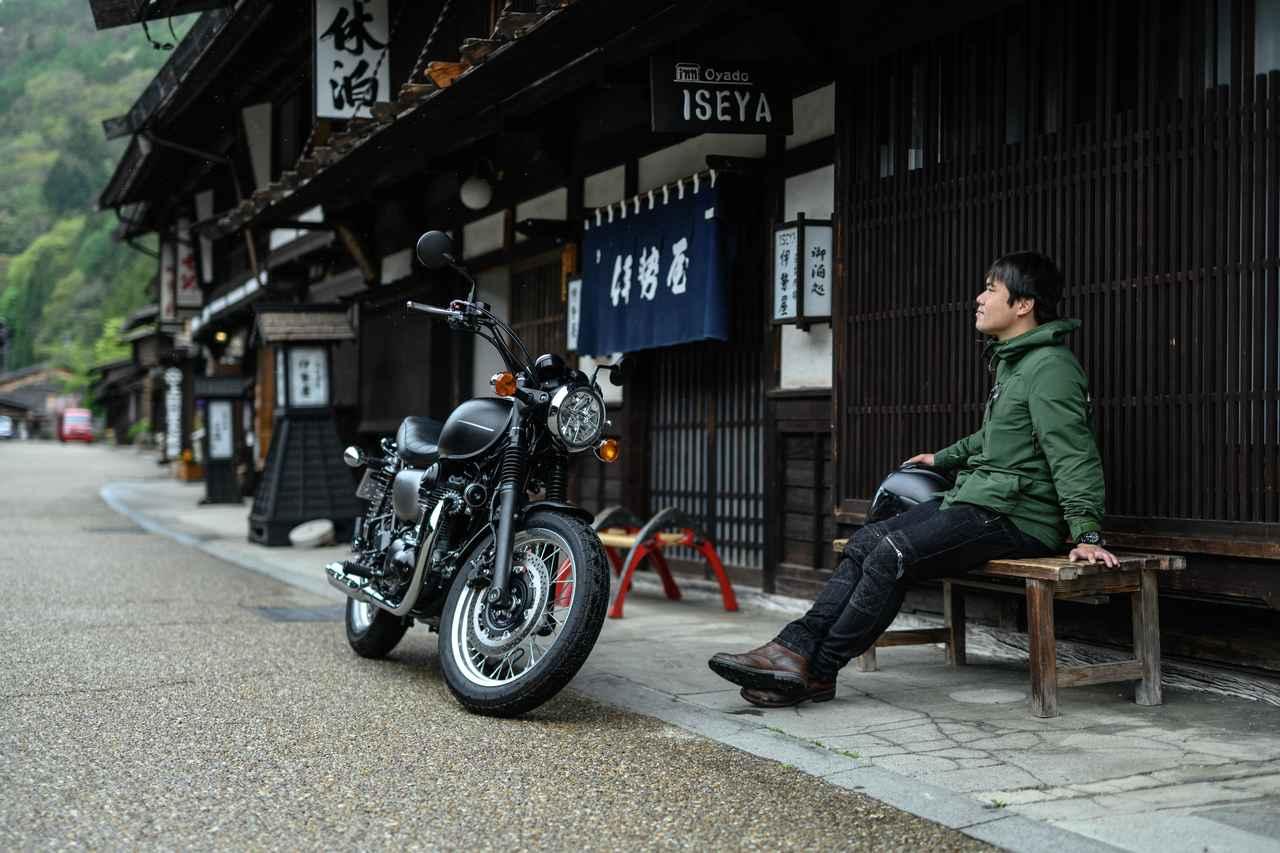画像1: W800ストリート/奈良井宿にて