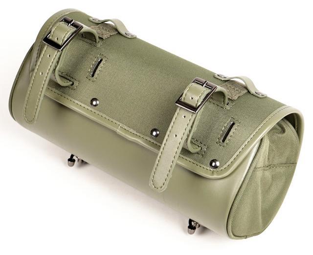 画像3: オシャレに積載! ミリタリーテイストのバイク用ツールバッグ