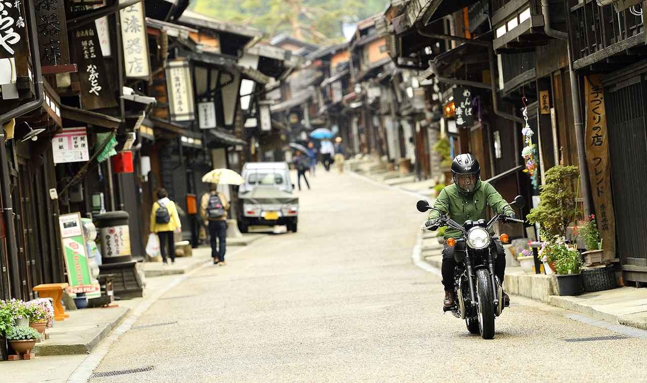 画像2: W800ストリート/奈良井宿にて