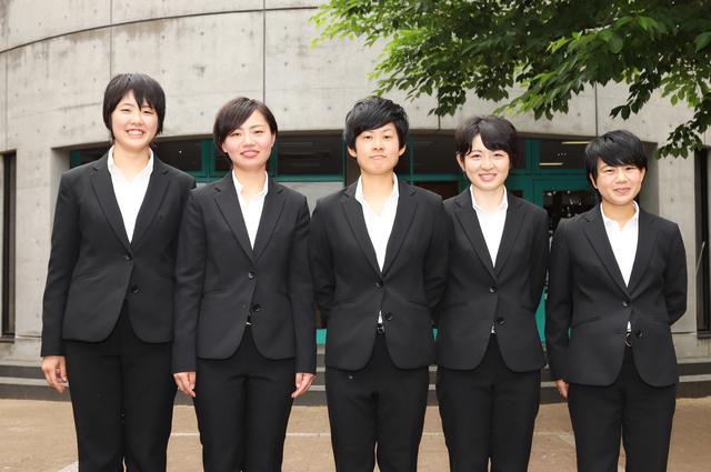 画像: 第34期生では5人の女性ライダーが誕生。左から本田仁恵 選手、信澤綾乃 選手、松尾 彩 選手、桝崎星名 選手、早川瑞穂 選手。