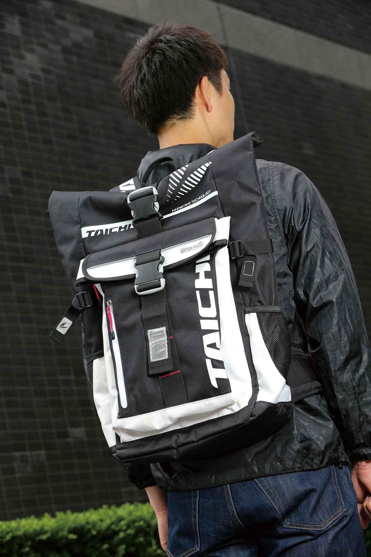 画像: スポーツ WP バックパック 価格:1万6200円 [カラー] ホワイト、ブラック、カモフラージュ サイズ] W23×D30×H52㎝ [容量] 25L