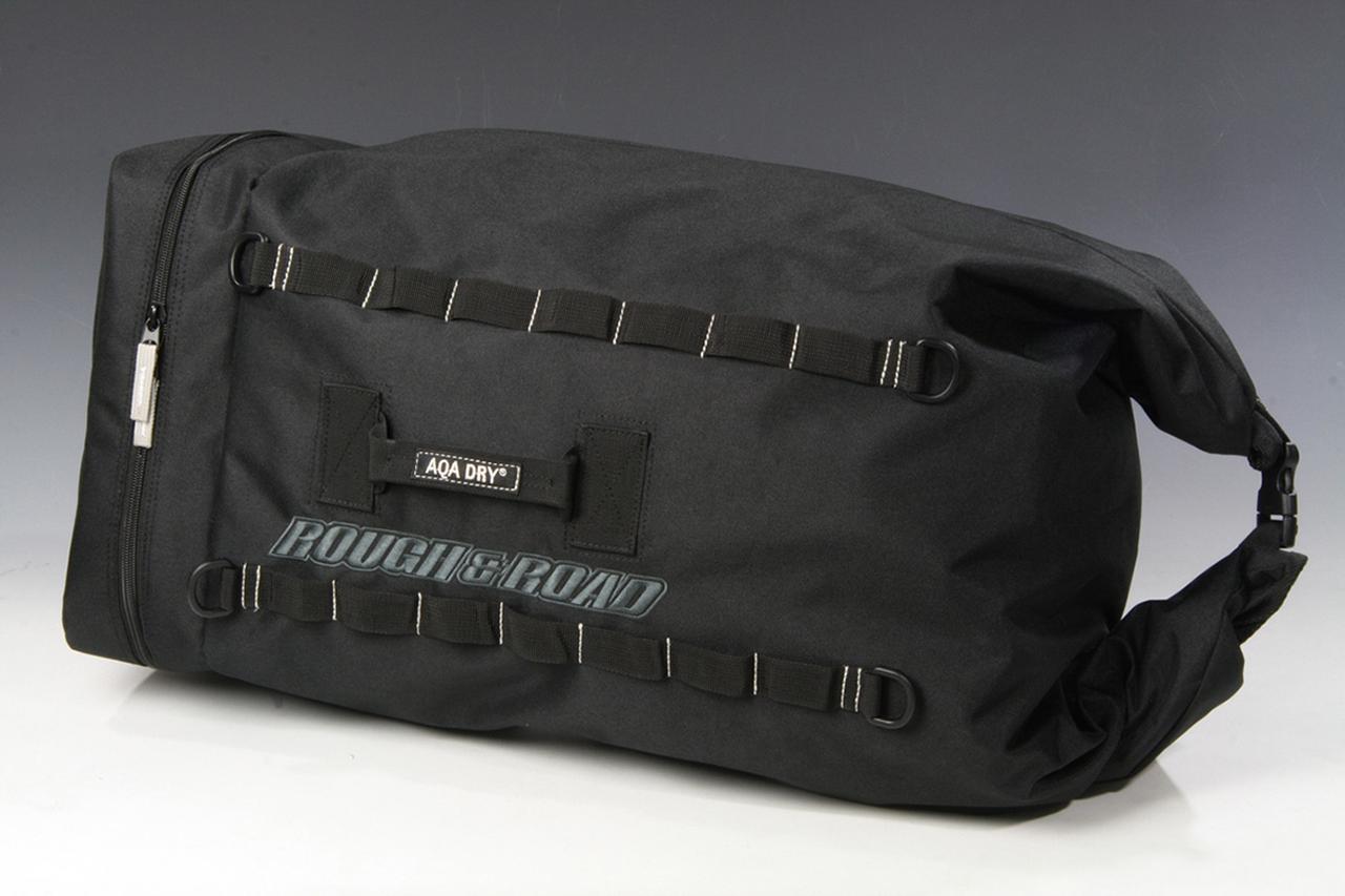 画像: RR9404 AQA DRY ドラムバッグ 価格:8100円 [カラー] ブラック [サイズ] W30×D30×H85㎝(最大) [容量] 55〜58L