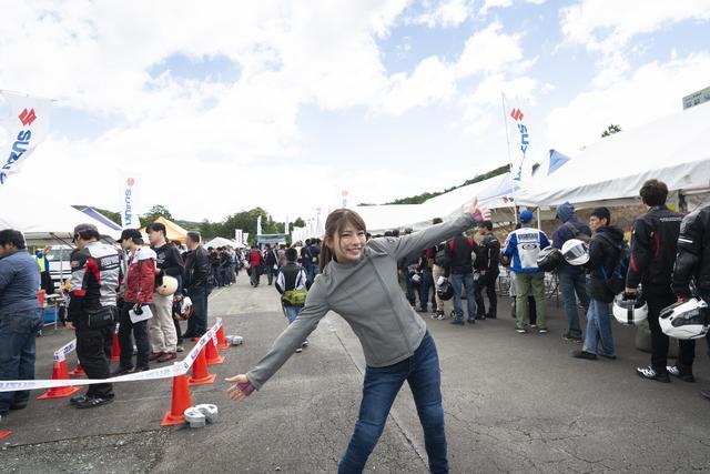 画像1: スズキ「KATANA」が登場した初の試乗会、その一巡目で乗っちゃいました!