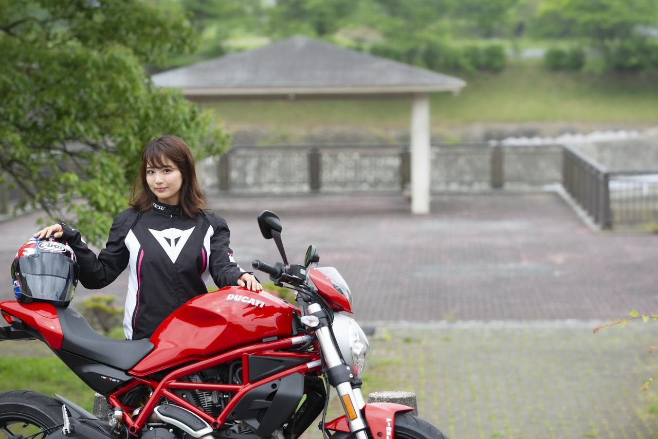 Images : 9番目の画像 - 「平嶋夏海の「つま先メモリアル」(第4回:Ducati モンスター797)」のアルバム - webオートバイ